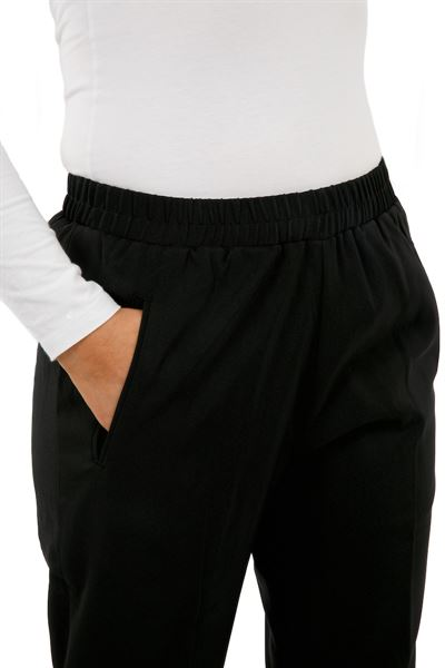 Elasticated wasit trousers with side pockets
