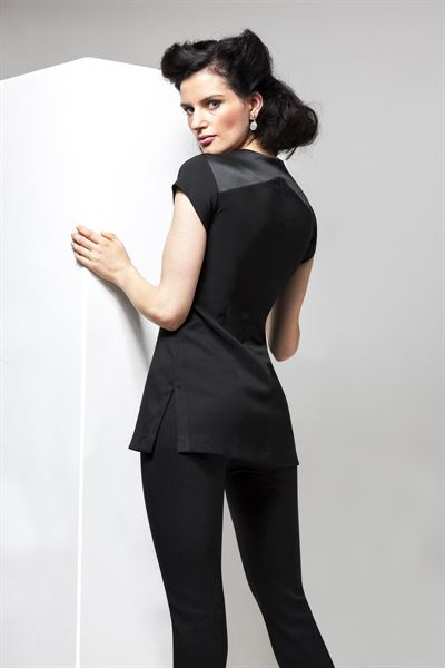 B028 Black Tunic - Back Shot