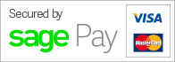 Payments Secured by Sagepay Logo